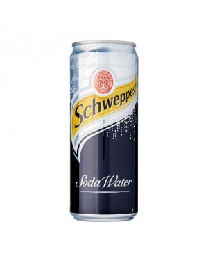 Schweppes - Soda Water (330ml)